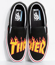 61a5e4b5b6df96 VANS Slip on Pro Thrasher Black Vn0a347vote Skate Casual RARE Men s Size 11  WB