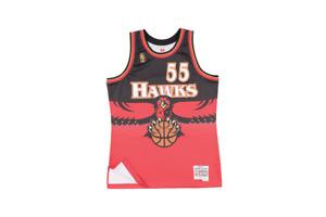 Mitchell & Ness Hawks Dikembe Mutombo '96 NBA Swingman Jersey SMJYGS18138