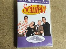 * DVD TV NEW SEALED * SEINFELD SEASON 5 EPISODES 6 - 10 *