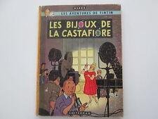 TINTIN LES BIJOUX DE LA CASTAFIORE EO1963 FRANCAISE DANEL 4560 edition originale