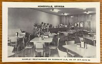 HOMERVILLE GEORGIA HARRIS RESTAURANT ON HIGHWAY US 411 POSTCARD H84