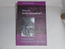 Heisterkamp Was ist Anthroposophie?