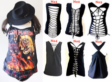 Iron Maiden with Special Cut Out Back Tank Top  S-XL tee t shirt