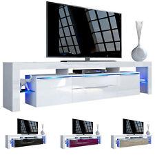 """White High Gloss Modern TV Stand Unit Media Entertainment Center """"Lima Nova V2"""""""