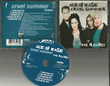 ACE OF BASE Cruel Summer 5TRX w/ 4 RARE MIXES w/ KLM & HANI NUM USA CD Single