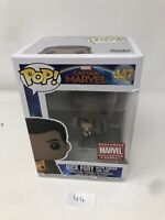 Funko Pop! Nick Fury With Goose The Cat #447 Marvel Collector Corps +Protect P44