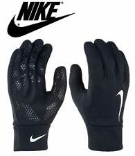 Nike Mens Hyperwarm Gloves Field Football Training Running Adults Black S M L