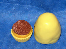 Cup Cake Silicone Push Mold For Resin Clay Candy #6 Fondant Wax Gumpaste Soap