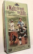 A WALTZ THROUGH THE HILLS (VHS, 2000) Tina Kemp Andre Jansen BRAND NEW SEALED