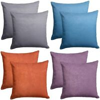 "SOFT TOUCH TEXTURED EMBOSSED 18"" CUSHION COVERS SINGLE, PAIR OR SETS OF 4"