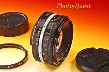 NIKON NIKKOR 50mm f/1.8 AI-s Pancake Lens ais [SEE SAMPLE SHOTS]