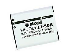 ONX-LI50B WT Battery For Olympus Tough 6000,6020,8000,8010,TG-610,TG-620 iHS,