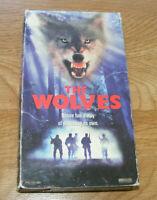 Rare THE WOLVES VHS 1994 Darren Dalton Vidmark Dog Wolf Horror Woods Hunting
