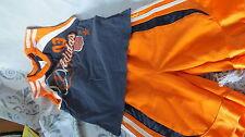 ADIDAS kids sporty shorts and shirt orange/blue size 4t