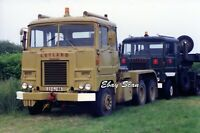 Heavy Haulage Photograph - Army Leyland Scammell Crusader Tractor Reg № 23GJ88