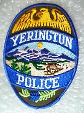 Patch- Yerington US Police Patch (New* )