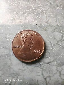1955 Error Wheat Penny very very rare with no mint mark
