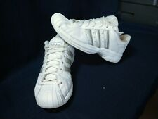 Adidas SS2G Superstar 2G men's shoes, White/Silver, size 8.5