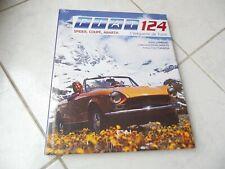 Fiat 124 Spider Coupé Abarth L'élégante de Turin Julien Lombard ETAI Livre neuf