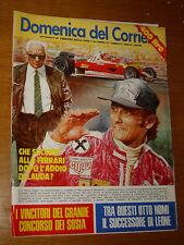 DDC 1977/37=NIKI LAUDA=LORENZO PEPE=STUNTMAN=GINO BRAMIERI=BAIA LA SPEZIA=TORRI=