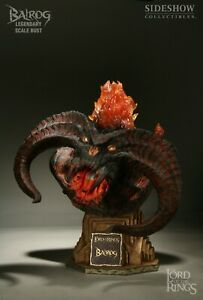 💥Sideshow Collectibles Lord of the Rings Balrog Legendary Scale Bust SEALED💥