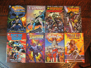 DC Set Of 8 TPBs Awesome Value!!!