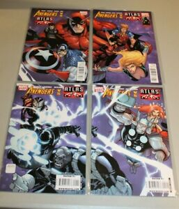 Complete Set Avengers vs Agents of Atlas 1-4 VF/NM Thor Namorita Iron Man Wasp