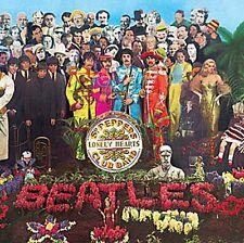 Beatles Sgt. Pepper LP Cover fridge magnet  75mm x 75mm   (ro)