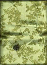"""""""Victorian Blends"""" Print light olive on pale green Fabric by Sharon Yenter"""