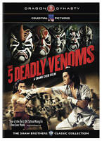 Five Deadly Venoms DVD Region 1----- Hong Kong Kung Fu Martial Arts Action movie