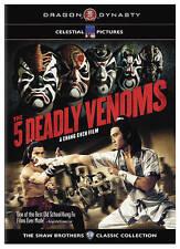 Five Deadly Venoms DVD Region 1----- Hong Kong Kung Fu Martial Arts Action--8B