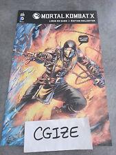 BD Histoire Artbook livre Mortal kombat x xbox ps3 ps4 collector liens de sang
