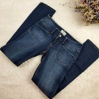 Aeropostale women's jeans size 5/6 regular bayla skinny cut medium wash (O)