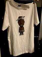 Mister Tee Tupac Cartoon Mens Medium T-shirt 100% Cotton