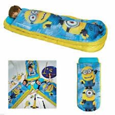 DESPICABLE ME MINIONS Sleeping Bag Inflatable Air Matress Camping Ready Bed