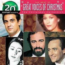 The Best Of Great Voices of Christmas  20th Century Masters  2005 by Various Art