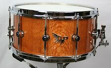 "Hendrix 14"" x 7"" Stave Lacewood High Gloss Snare Drum"