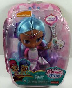 "2016 Fisher-Price Nickelodeon Shimmer & Shine 6"" Doll Princess Samira DENTED BOX"