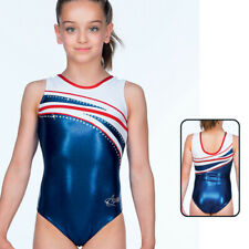 1 Body Gymnastique AGIVA Leotard Metallic Elastane Taille 38 (S) NEUF DESTOCKE