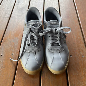 Adidas Size US 10 Grey CourtSet Sneaker Ortholite Almost New Womens