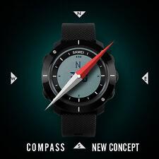Multi-functional Men Compass Sports Watch Waterproof Military Wrist Watch New