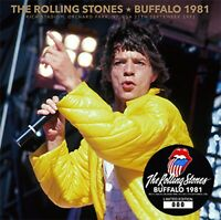 The Rolling Stones Buffalo 1981 Rich Stadium CD 2 Discs 29 Tracks Music Rock