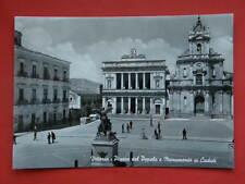 VITTORIA Piazza del Popolo Monumento Caduti Ragusa vecchia cartolina