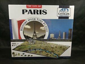 City of Paris History Over Time 4D Cityscape Time Puzzle New Unique Style