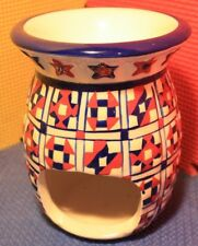 PartyLite Quilted Aroma Melt Warmer P7032
