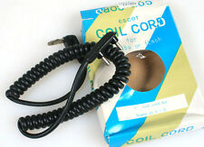 5FT COIL SYNC CORD FOR ARGUS C-3 (Harry Potter camera) NEW  IN ORIG. BOX