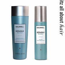 Goldwell Kerasilk Repower Volume Shampoo & Foam Conditioner Duo