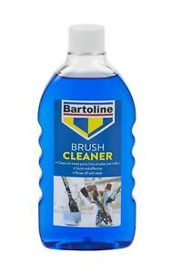 Bartoline Brush Cleaner 500ml Cleans Oil-Based Paints & Rollers Water Soluble