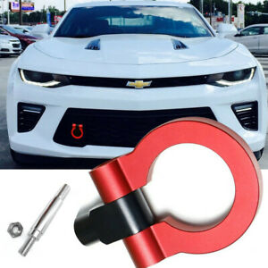 Red Sport Racing Style Aluminum Tow Hook for Chevy Camaro Camaro SS ZL1 2016