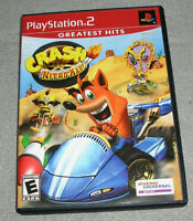 Playstation 2 PS2 Game Crash Nitro Kart COMPLETE TESTED WORKING EXCELLENT